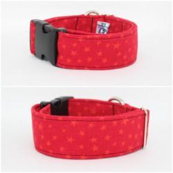 Collar Estrellas Rojas (4cm)